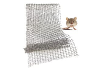 RVS wering gaas - muizengaas - 10cm-bob