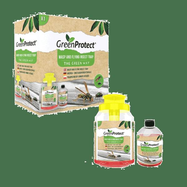 Green Protect Wespen en vliegende insecten val met navulling