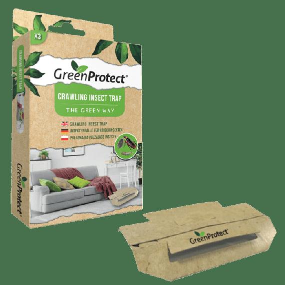 Green Protect kruipende insecten val - zilvervisjes val - kakkerlak val - mierenval