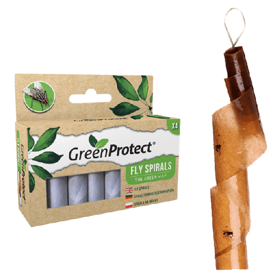 Green Protect vliegen val spiraal