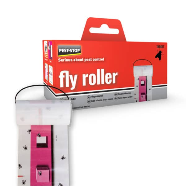 pest stop fly roller - vliegenrol - vliegenpapier - vliegenvanger