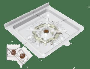 zilvervisjesval - papiervisjesval
