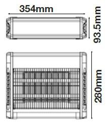 VT-3216 insectenlamp-muggenlamp-vliegenlamp